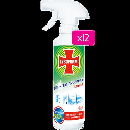 LYSOFORM Desinfektionsspray Lemon Großpackung