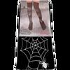 Bild: Blaschek Halloween Strümpfe Spinnennetz