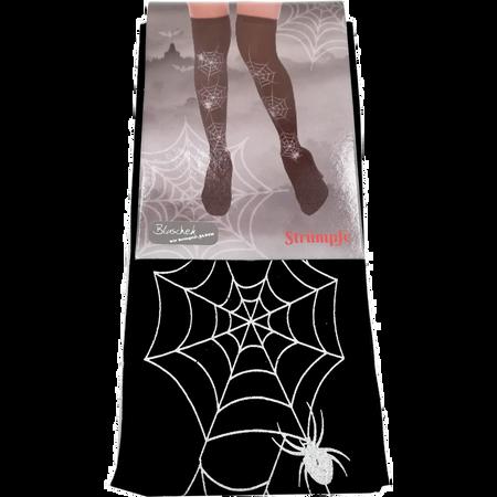 Blaschek Halloween Strümpfe Spinnennetz