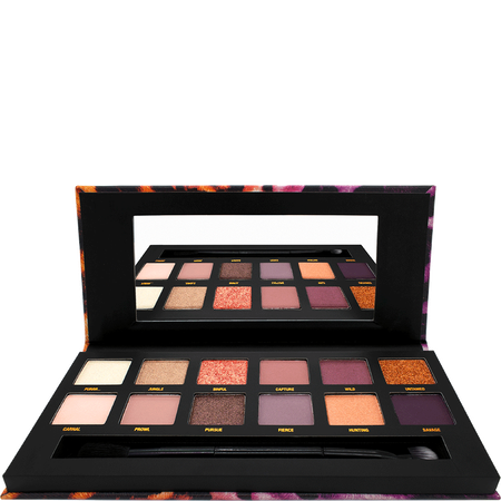 W7 Wild Eyes Pressed Pigments on the Prowl Eyeshadow Palette