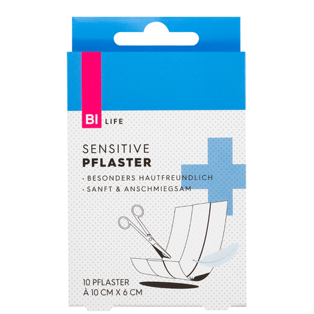 BI LIFE Pflaster Sensitive 10x6cm