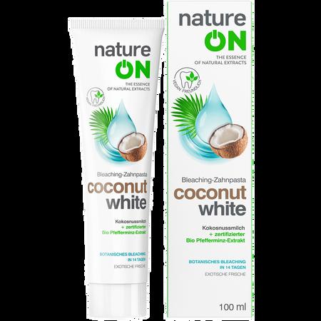 nature ON Bleaching Zahnpasta Coconut White