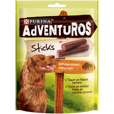 AdVENTUROS Büffelgeschmack Sticks