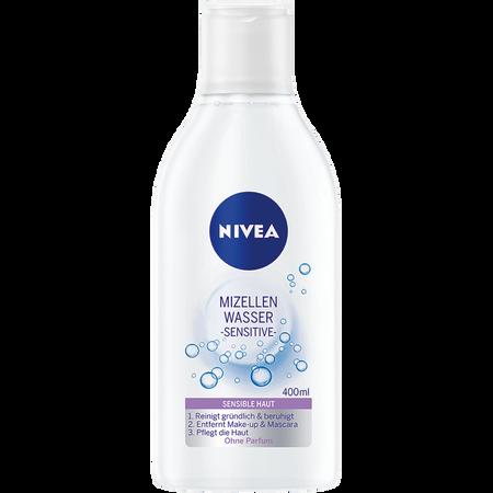 Bild: NIVEA Mizellenwasser sensitive  NIVEA Mizellenwasser sensitive