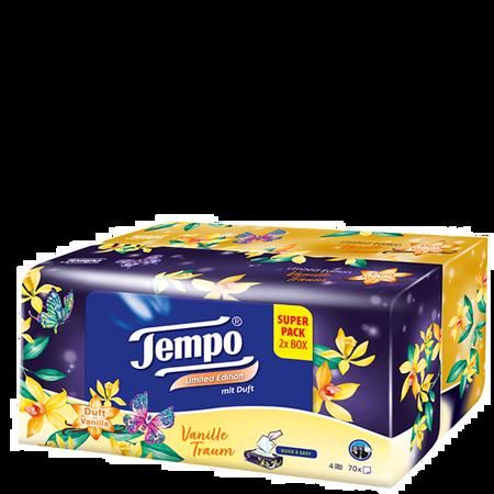 Tempo Taschentücher Box Limited Edition Vanille Traum
