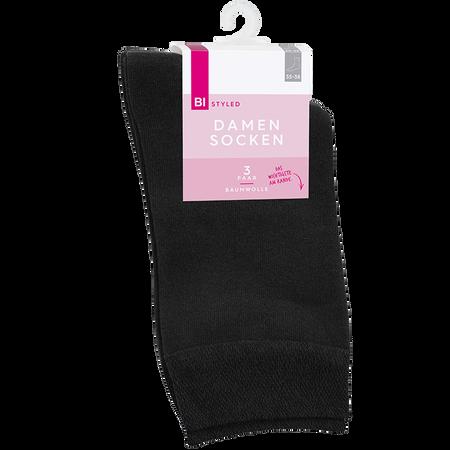 BI STYLED Damen Socken Baumwolle