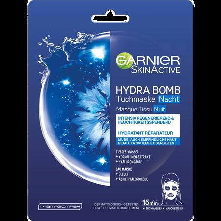 GARNIER SKIN ACTIVE Hydra Bomb Skin Active Tuchmaske Nacht