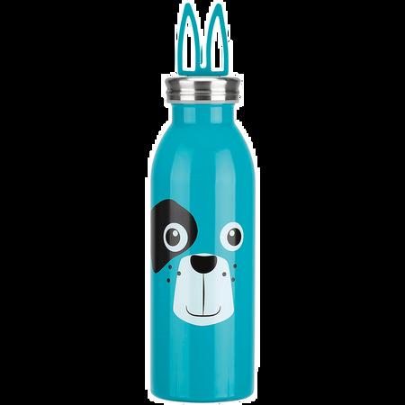 LOOK BY BIPA Thermoflasche Hund Blau