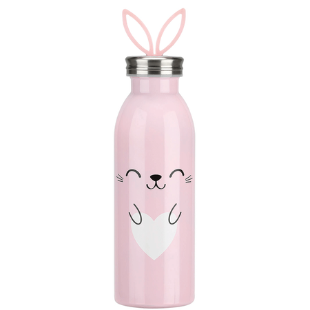 LOOK BY BIPA Thermoflasche Hase Rosa