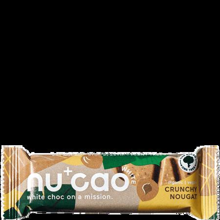 nu cao chocolate Bar mit Hanfsamen Crunchy Nougat
