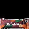 Bild: nu cao chocolate Bar mit Hanfsamen Macadamia Chai