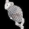 Bild: Stolze Helden Stoffmaske für Kinder Zick Zack