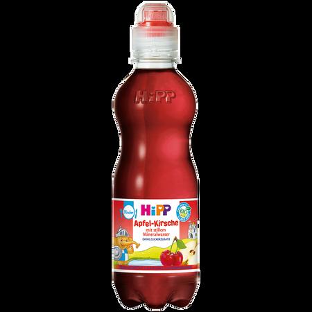 HiPP Apfel-Kirsche mit stillem Mineralwasser
