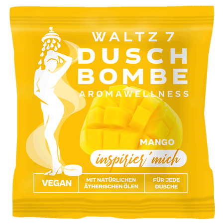 WALTZ 7 Duschbombe Mango