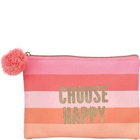 LOOK BY BIPA Choose Happy Kosmetiktasche mit Bommel