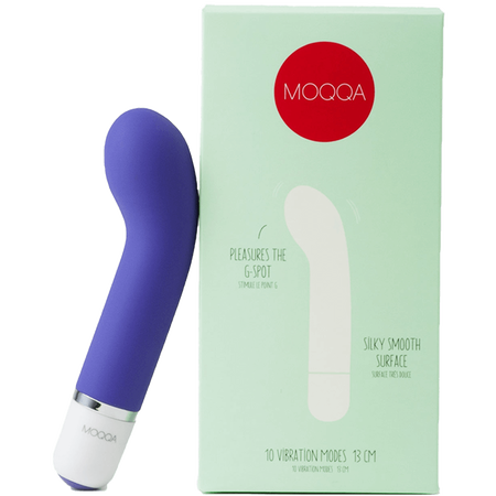 AMORELIE MOQQA Dive Mini G-Punkt Vibrator Purple