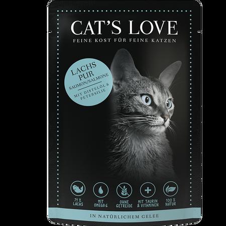 CAT´S LOVE Lachs Pur Katzenfutter