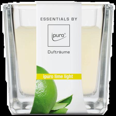 ipuro Duftkerze Essentials Lime Light