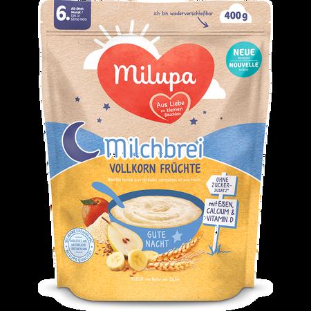 Milupa Milch-Getreidebrei Vollkornfrüchte