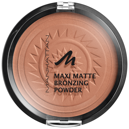 MANHATTAN Maxi Matte Bronzing Puder