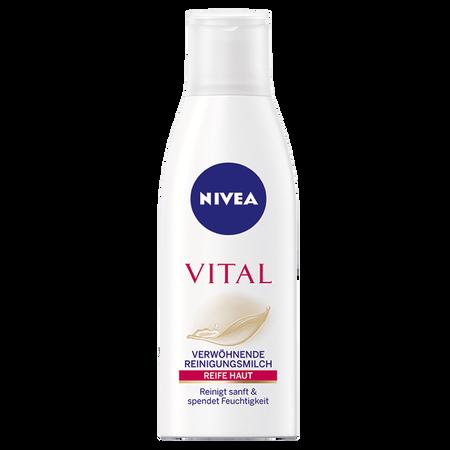 Bild: NIVEA Visage Vital Verwöhnende Reinigungsmilch  NIVEA Visage Vital Verwöhnende Reinigungsmilch