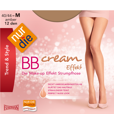 nur die Strumpfhose BB Cream Effekt 12 DEN