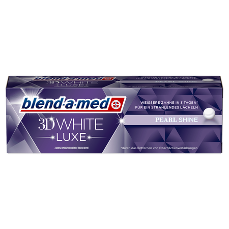 blend-a-med Zahncreme 3D White Luxe Pearl Shine