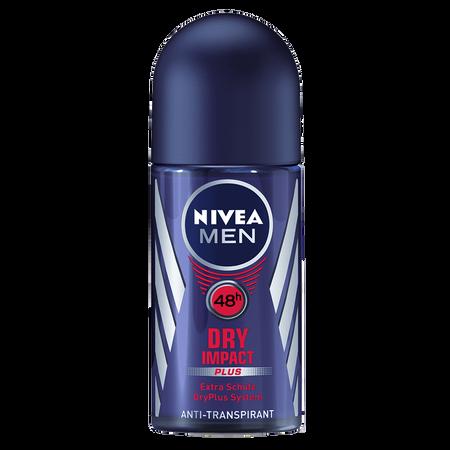 NIVEA MEN Dry Impact plus Deo Roll-on
