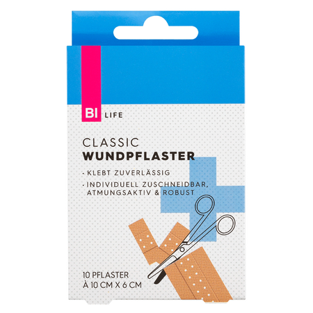 BI LIFE Wundpflaster Classic