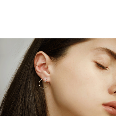 ILINA Jewelry Ear Jackets Delia