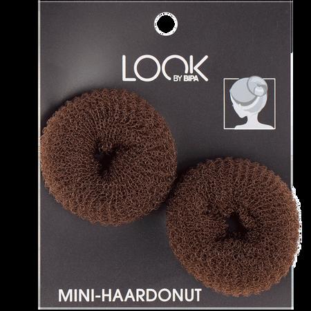 LOOK BY BIPA Mini-Haardonut braun