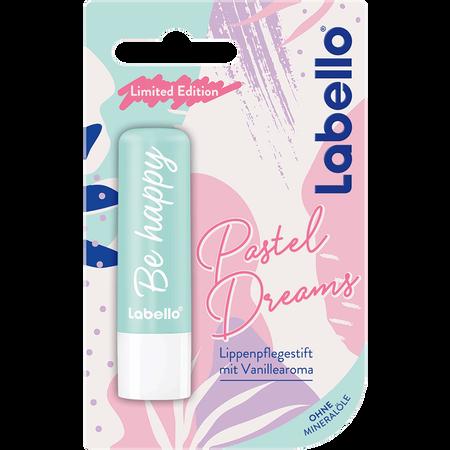 labello Pastel Dreams Lippenpflegestift Vanille