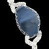 Bild: Stolze Helden Stoffmaske für Kinder blau