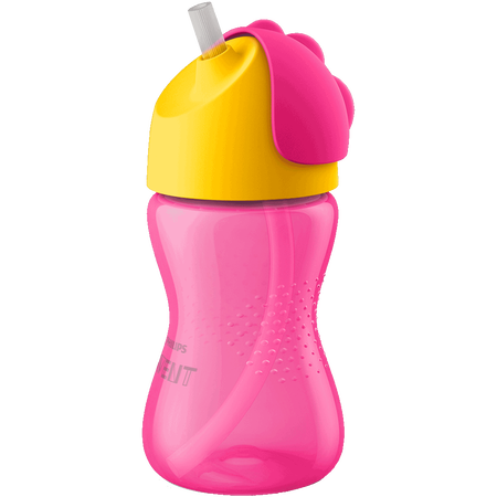 PHILIPS AVENT Strohhalmbecher 12 Monate+, 300ml, 12 Monate+, pink