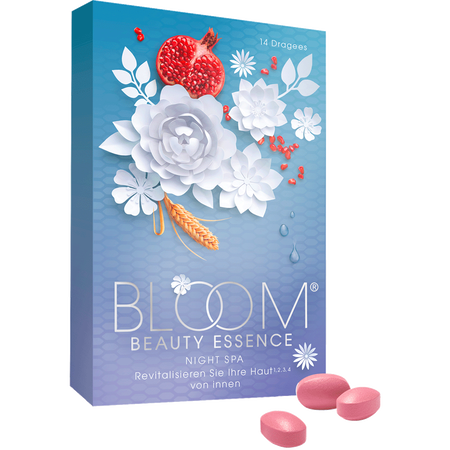 Bloom Beauty Essence Night Spa Dragees