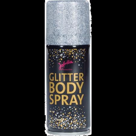 Jofrika Glitter Bodyspray Silber