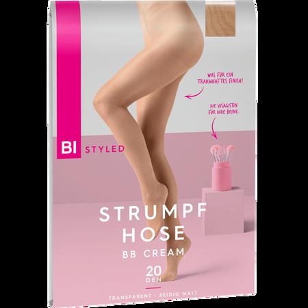 BI STYLED BB Cream Strumpfhose 20 DEN