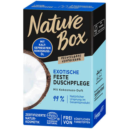 Nature Box Feste Dusche Kokos