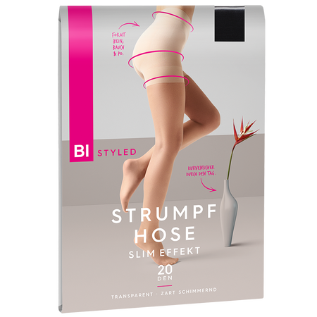BI STYLED Strumpfhose slim effekt 20 DEN
