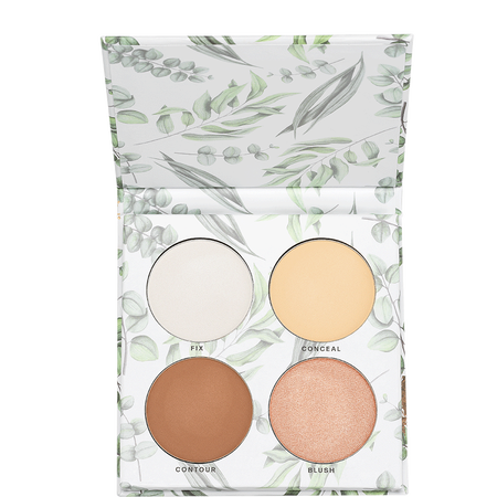 LOOK BY BIPA pure Natural Finish Face Palette light medium