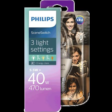 PHILIPS SceneSwitch LED Kerze 40W