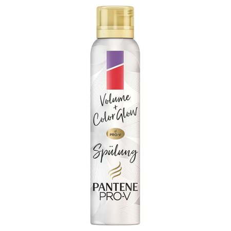 PANTENE PRO-V Pro-V Volume+ Color Glow   Schaum-Pflegespülung 180ml