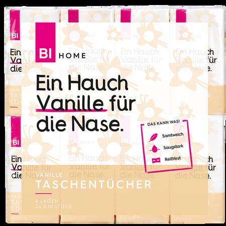 BI HOME Taschentücher Vanille