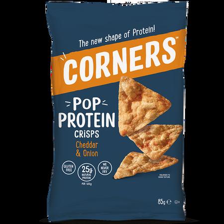 CORNERS Pop Protein Crisps Cheddar & Onion