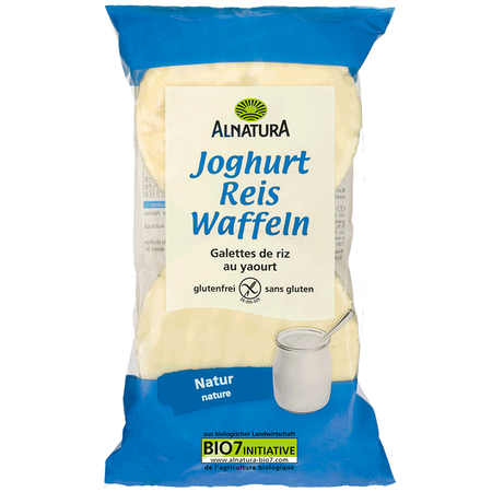 ALNATURA Joghurt Reis Waffeln