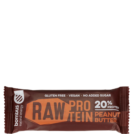 Bombus Raw Protein Bar Peanut Butter