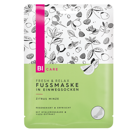 BI CARE Fresh & Relax Fussmaske