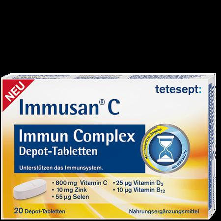 tetesept: Immusan C Immun Complex Depot-Tabletten