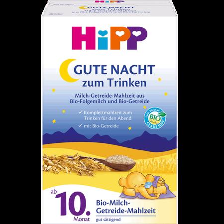 HiPP Gute Nacht zum Trinken Milch-Getreide-Mahlzeit