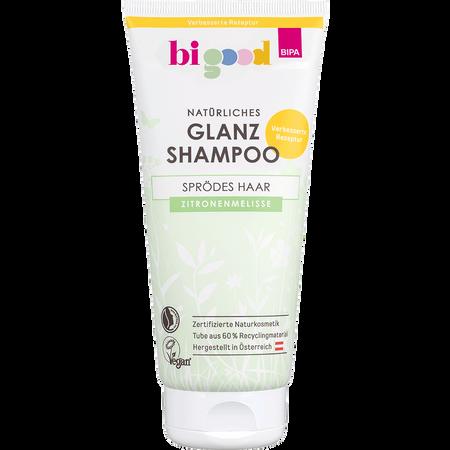 bi good Natürliches Glanz Shampoo Zitronenmelisse